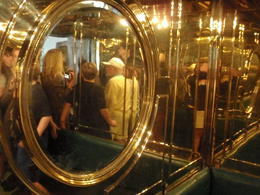Elevator was lined with brass to lessen Hitler's fear of confined spaces. , Savvy Sightseer - August 2014