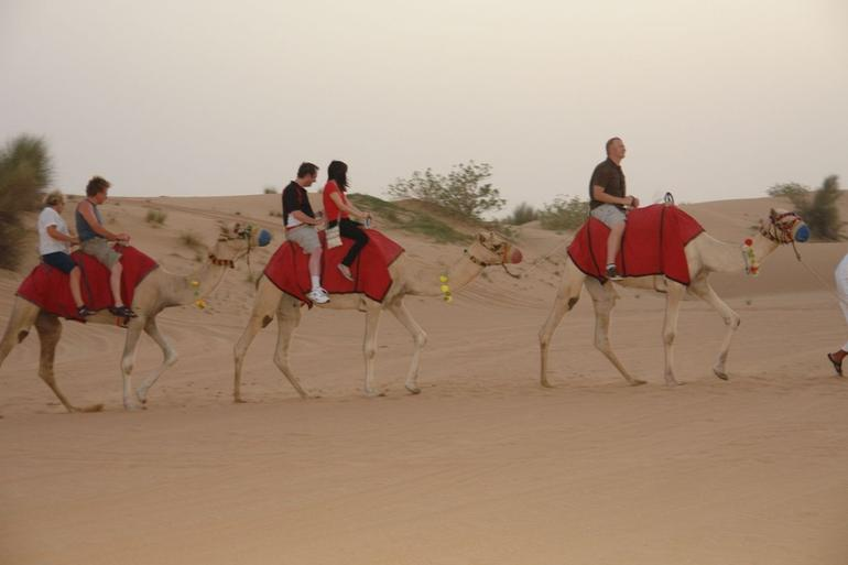 Camel ride during safari in Arabian Desert - Dubai
