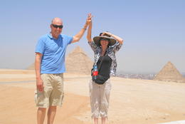 At the Pyramids , John g K - May 2011