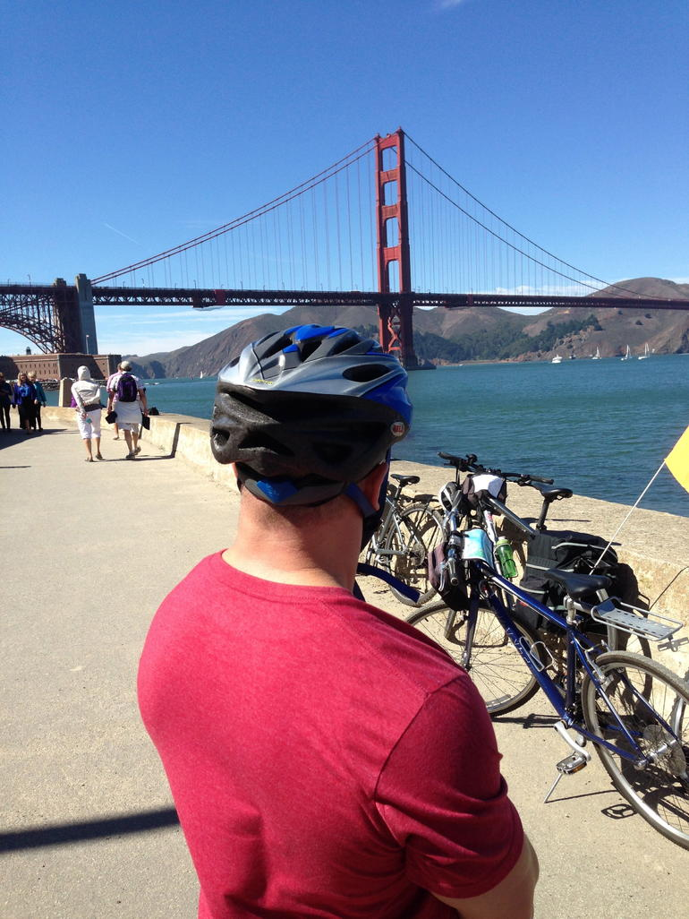 EXPERIENCE THE GOLDEN GATE WHILE ACTUALLY ON THE GOLDEN GATE - San Francisco