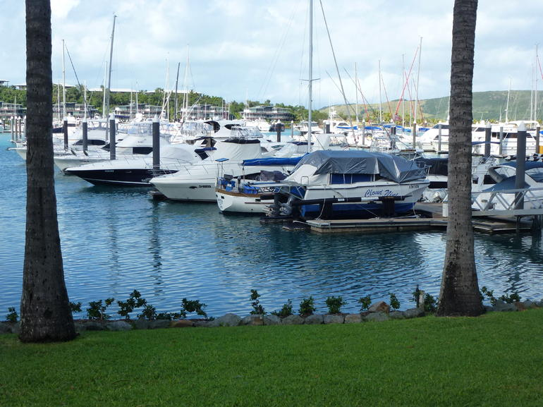 Harbour view - Airlie Beach