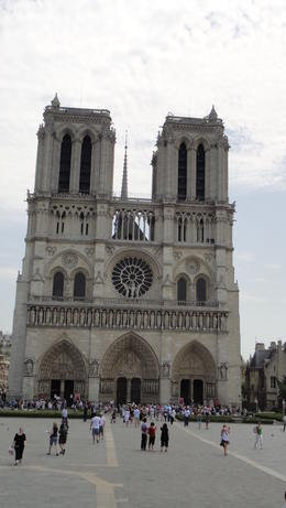 Notre Dame Cathedral, Travel Mom - July 2011