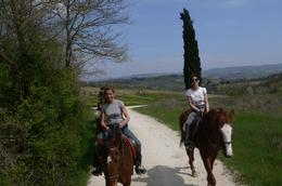 Horse Riding in Tuscany - February 2010