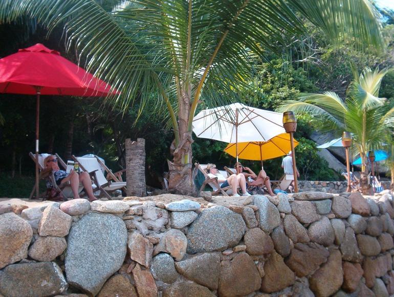 Las Caletas - relaxing after lunch - Puerto Vallarta