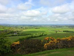 The view from the hike up to the Loughcrew Celtic tombs - one of the best views I saw on my whole trip to Ireland! , Emily T - May 2014
