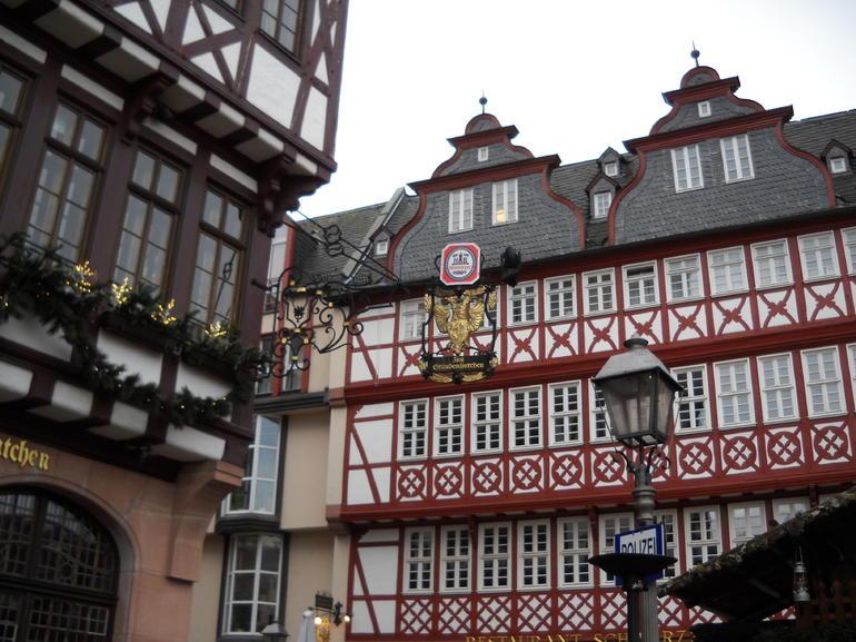 Near the German Christmas Market - Frankfurt