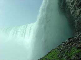 Niagara Behind the Falls Tour, Horseshoe Falls , Jean R - July 2015