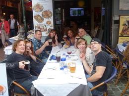 Group dinner , JOANNE L - July 2012