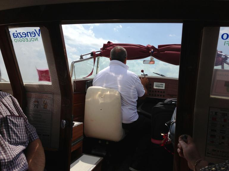 Pilot Of The Transfer Boat - Venice