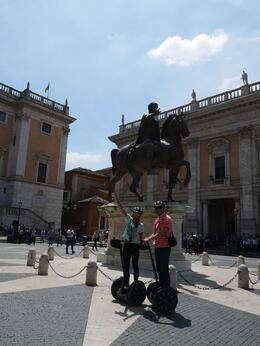 Roma en Segway , Manuela R - June 2014