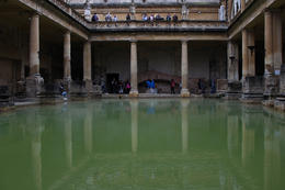 The Roman Baths were truly amazing. , Tiffany L - September 2016