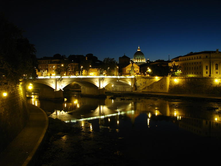 Rome at night -