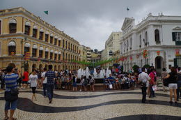 We walked through historic Senado Square. , Bill604 - November 2015