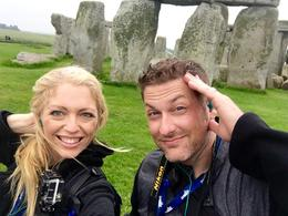 A windy day at Stonehenge , Kristen G - August 2016