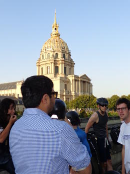 Learning about Napoleon's Tomb , dizzledorf - August 2012