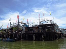 In the traditional fishing village of Tai O, fishermen still live in houses on stilts. , BethanieKay - July 2014