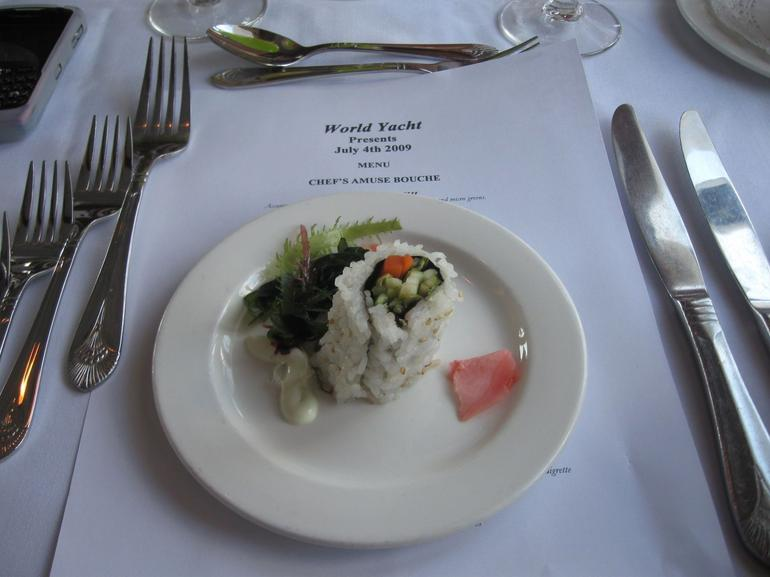 The First Course - New York City