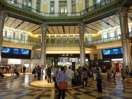 Intérieur Tokyo station, fin de nôtre visite. , Michel L - May 2015