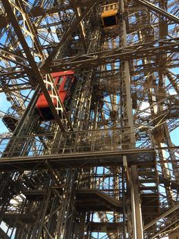 Photo depuis le toit du restaurant Jules Verne , titeuf114 - January 2014