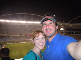 Wife and I and the Vasco-Botafogo match on 13/11/2011 , Chad G - November 2011