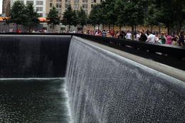 9/11 Memorial, Jules & Brock - July 2012