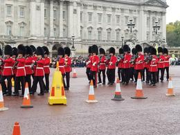 Changing of the guard as band was so close we could touch them but don't , Sean A - September 2017