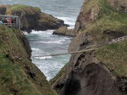 Carrick-a-Rede Rope Bridge Incredibly scary with the wind blowing it , yuditlev - November 2017