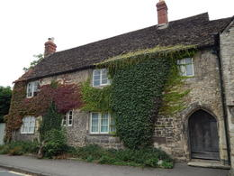 When stopping for the pub lunch (which was absolutely delicious!) in Lacock, we got to see dozens of gorgeous vine-covered houses. , Ginger S - September 2013