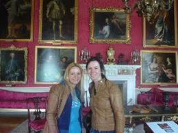 We took a tour of the State Rooms in Blenheim Palace - May 2013