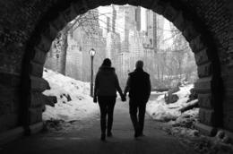 My Wife and I strolling through central park taken by our private photographer Marc Samuels. , David M - March 2014