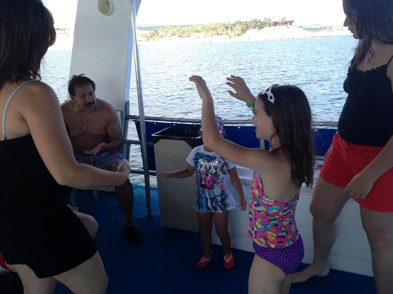 Dancing on the way back to the marina... - Los Cabos
