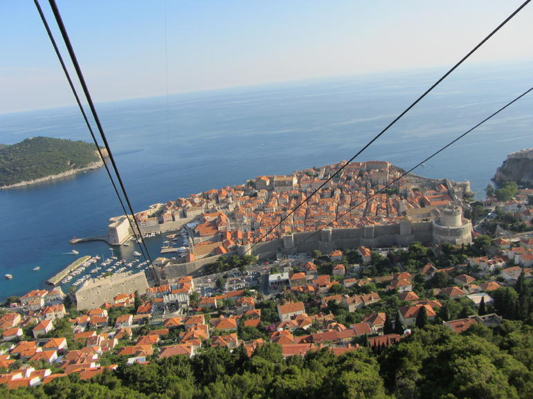 Dubrovnik from the tram top... - Split