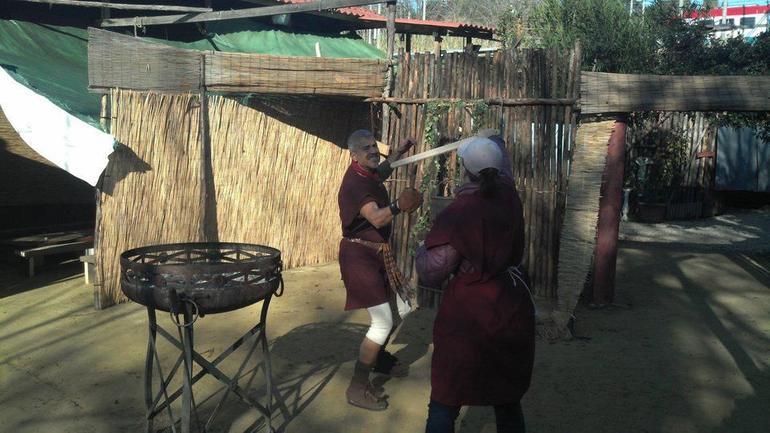 Fighting the Gladiator - Rome