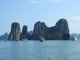 The islands in Halong Bay , James M - February 2016