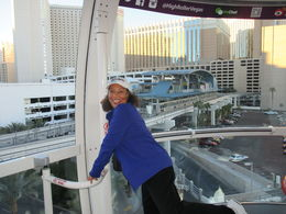 Dancing on the high roller wheel on my Husbands Wades Birthday Gift from Me. I loving every bit of the high roller. Coming to Vegas its a ride you want to take. , Terry A - November 2015