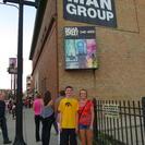 Blue Man Group no Briar Street Theater em Chicago, Chicago, IL, ESTADOS UNIDOS