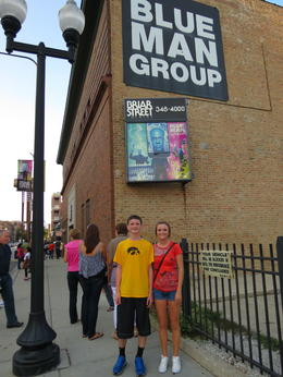 Loved the Blue Man Group--great show! , Kevin C - September 2012