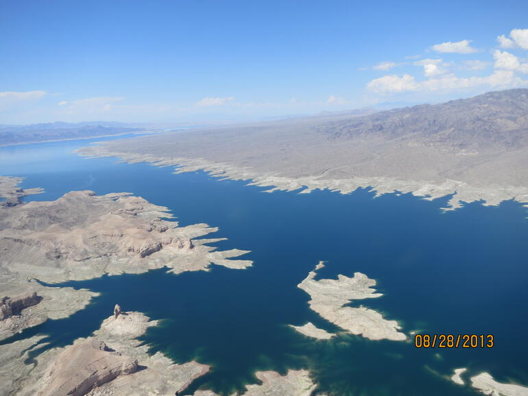 Lake Mead View from Helicopter - Las Vegas