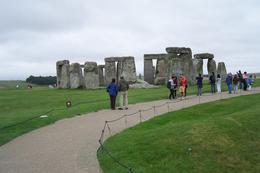 Lots of people taking in the wonders of Stonehenge. , Amanda P - October 2016