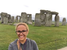 Me at Stonehenge , ijanayajacob22 - July 2016