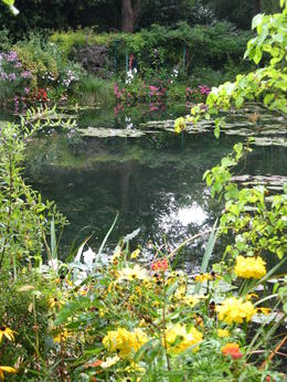 A view of the water garden at Monet's house in Giverny. , Stephanie H - October 2013