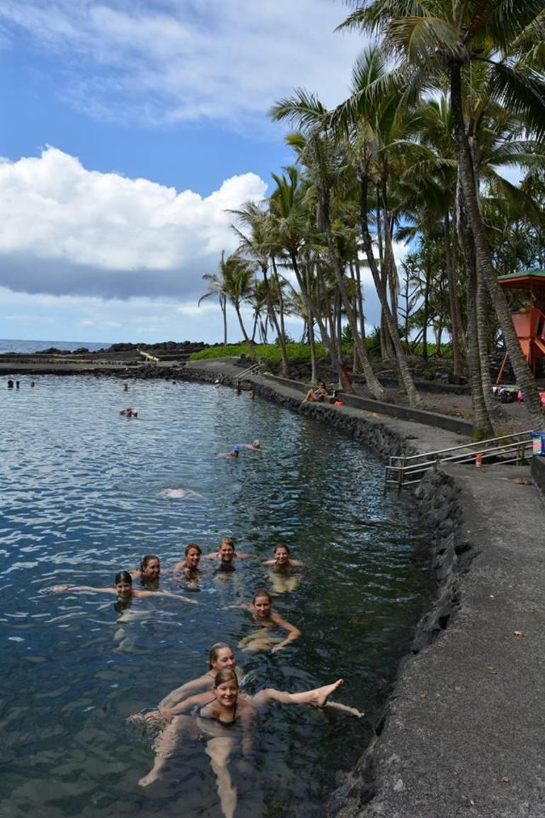 Natural Hot Pool - Big Island of Hawaii
