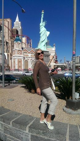Enjoying our trip to Las Vegas , Tetyana C - November 2013