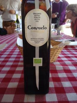 Consuelo's organic olive oil from Colmenar de Oreja , KAK - November 2013