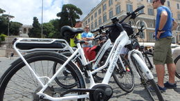 The e-bikes were greatly appreciated -- after all, Rome is the city built on seven hills! , RockyDick - July 2015
