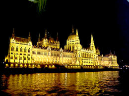 Great view of Parliament building from the Danube. , Mícheál G - October 2013