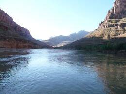 Taken from the front of our boat while cruising down the Colorado river, Tony C - April 2009