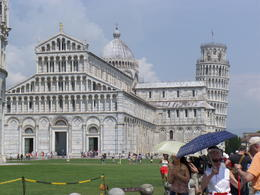 Baptistry / Cathedral and Leaning Tower , Huggie - July 2013