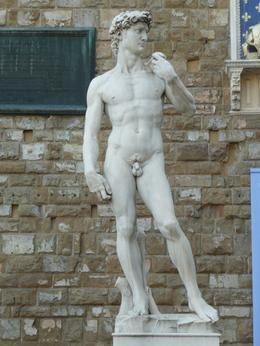 Statue of David, Philippa Burne - July 2011