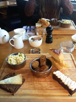 Yummy afterrnoon Tea at the Swan, Maria - March 2013